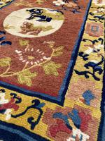 Antique Chinese Ningxia Rug (5 of 9)