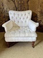 Large Victorian Country House Armchair (3 of 5)