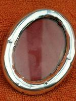 Antique Sterling Silver Hallmarked Small Picture Frame 1899 (2 of 8)