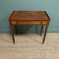 Regency Mahogany Antique Side Table (4 of 6)