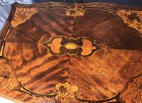 Quality Inlaid Walnut Occasional Table (14 of 18)
