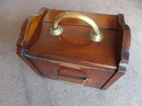 A Mahogany Coal Box from  c 1920's - 30's (6 of 6)