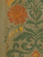Antique Swedish Style Painted Folk Art Wardrobe Armoire (6 of 22)