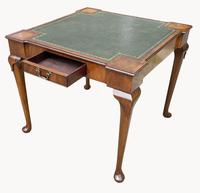 Unusual Games / Card Table in Mahogany (4 of 5)
