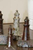 Rare Marble Collection of 9 Carved Lighthouse (13 of 15)