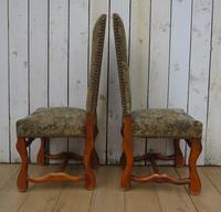 Set of Six Oak Os De Mouton Dining Chairs (8 of 9)