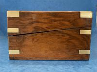 Victorian Brassbound Figured Walnut Writing Slope (8 of 18)