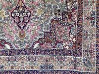 Antique Kerman Lavar Rug (3 of 11)