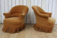 Pair Of French Crapaud Tub Armchairs (2 of 8)