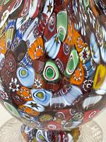2 Beautiful Italian Murano Fratelli & Torso Millefiori Glass Vases (11 of 34)