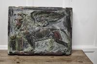 Heavy Bronze Effect Wall Plaque Depicting the Winged Lion of St Mark, Venice (3 of 11)