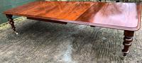 Very Large Victorian Mahogany Extending Dining Table (6 of 16)