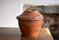 Large 19th Century Terracotta Bread Crock (3 of 10)