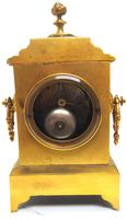 Fine Antique French 8-day Striking Mantel Clock - Sought Solid Bronze Ormolu Case (8 of 11)