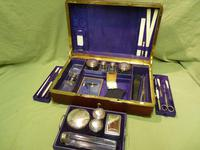 Quality French Fitted Travel – Vanity Box. c1880 (7 of 13)