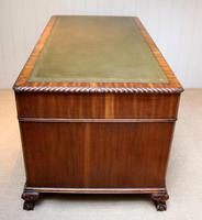Large Mahogany Pedestal Desk (12 of 12)