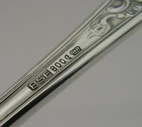 Beautiful Large German Solid 800 Silver Asparagus Server (10 of 10)