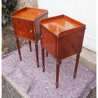Fine Pair of Gillows Style Mahogany Bedsides (6 of 7)