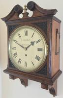 Stunning English Fusee Carved Timepiece (3 of 9)