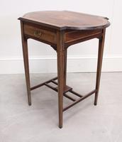 Edwardian Rosewood Occasional Table (3 of 7)