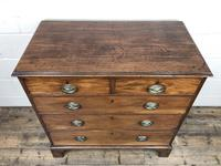 Antique George III Mahogany Chest of Drawers (7 of 12)