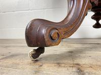 Victorian Mahogany Oval Tilt Top Table (4 of 12)