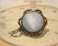 Vintage Pocket Watch Chain Fob 1950s Big Silver Nickel Victorian Revival Fob (6 of 8)