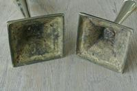 Pair of Quality 18th Century Style Brass Candlestick Pearson Page c.1910 (3 of 7)