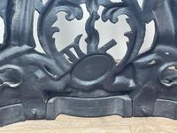 Art Nouveau Style Black Heavy Cast Iron French Nubile Umbrella Stand Corneau Alfred A Charlesville No 27 (41 of 41)