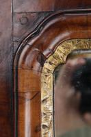 Large Antique George II Walnut Fretwork Mirror (9 of 13)