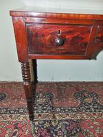 Late Georgian Mahogany Dressing Table (3 of 7)