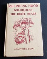 1958 Red Riding Hood Goldilocks & 3 Bears by Gilda Lund, 1st Edition Ladybird Book with Dust Jacket (4 of 5)