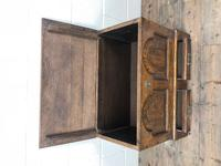 Antique 18th Century Style Welsh Oak Coffer Bach (4 of 14)