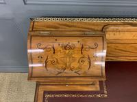 Inlaid Satinwood Carlton House Desk by Jas Shoolbred (13 of 25)