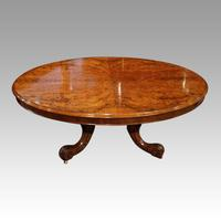 Victorian Walnut Coffee Table (2 of 8)
