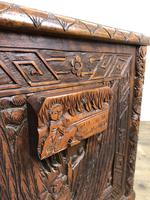 Early 20th Century Carved Camphor Trunk (14 of 14)