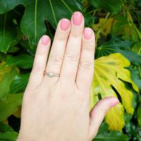 Antique 18ct Gold Diamond Solitaire Ring, Old Cut Engagement Ring (3 of 6)