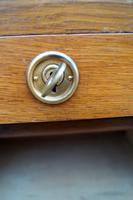 Oak Tambour Filing Cabinet (3 of 8)