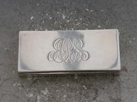 Early 20th Century Silver Triple Compartment Stamp Case by Cohen & Charles, London, 1913 (2 of 10)