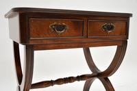 Antique Regency Style Mahogany Side Table (8 of 8)