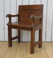 Antique French Bishops Chair (8 of 8)