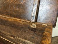 18th Century Style Welsh Oak Coffer Bach C.1930 (M-665) (3 of 11)