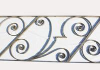 Superb Bronze Bannister & Minstrel Rail by Libertys of London (10 of 13)