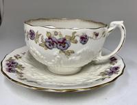 Victorian Moustache Cup & Saucer c.1892 (2 of 6)