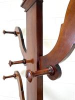 Victorian Mahogany Tree Shaped Hall Stand with Four Arms (9 of 10)