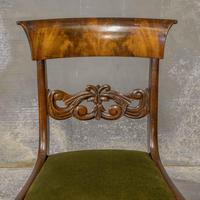 Set of Four William IV Mahogany Dining Chairs (4 of 7)