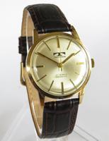 Gents 9ct Gold Technos Wrist Watch, 1974 (2 of 5)