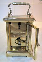 1940's Bornand Frères English Made Carriage Clock (6 of 7)
