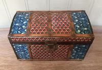 Colonial Dome Top Tin Casket (5 of 9)