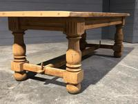 Large Refectory Bleached Oak Farmhouse Table (17 of 17)